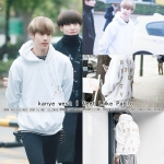 Hoodie kanye west I feet Like Pablo WHITE 16FW Sty.Mark GOT7 -ระบุไซต์-
