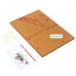ฐานรองอะคริลิค Arduino Uno และรองบอร์ดทดลอง