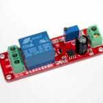 รีเลย์ หน่วงเวลา เปิด/ปิด สลับกันเรื่อย ๆ 12 โวลต์ Delay Relay Module Time Delay Switch Delay Timer Relay 1-10s Fiaed Cycle DC 12V
