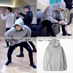 Hoodie kanye west I feet Like Pablo GRAY Sty.Mark GOT7 -ระบุไซต์-