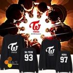เสื้อแขนยาว TWICE Name member -ระบุไซต์/สมาชิก/สี-
