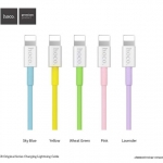 สายชาร์จ HOCO X8 Pastel Cable 1M (iPhone iPad iPod / lightning port) แท้