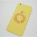 iPhone 6 Plus, 6s Plus - เคสปิดขอบ ลาย Smile Happy
