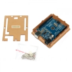 Arduino UNO R3 acrylic arduino case box กล่องอะคริลิคแบบใส สำหรับ Arduino Uno case