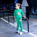 เสื้อ+กางเกง สีเขียว 1 ชุด ไซส์ 110
