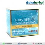 Aura Bright Apple Collagen Plus ออร่าไบร์ท พรีเมี่ยมคอลลาเจน SALE 60-80% ฟรีของแถมทุกรายการ