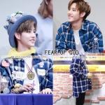 เสื้อเชิ้ต FEAR OF GOD Plaid Flannel Blue Sty.Mark -ระบุไซต์
