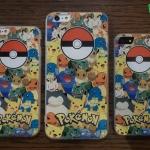 iPhone 5, 5s, SE - เคส Pokemon Go ลายรวมโปเกม่อน