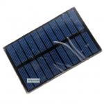 Solar Cell ขนาดเล็ก 5.5V 90mA 0.5W