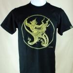เสื้อลายไทย LineThai T-shirt ลายพญาครุฑ