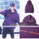 Hoodie VETEMENTS SEXUAL FANTASIES 16FW Sty.Chanyeol -ระบุไซต์-