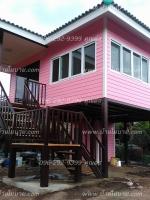 บ้านขนาด6*5.5เมตร + ระเบียง 2*3 เมตร ราคา 470,000 บาท