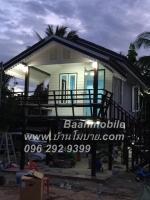 บ้านโมบาย ขนาด 3*7 เมตร ระเบียง 2*3 เมตร ราคา 250,000 บาท
