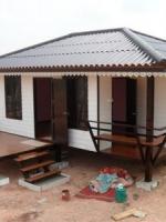 บ้านน็อคดาวน์ ทรงปั้นหยา 4*6 หนึ่งห้องนอน 1 ห้่องน้ำ