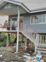 บ้านขนาด 4*6 ระเบียง 3*3 เมตร ราคา 386,000 บาท