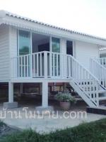 บ้านน็อคดาวน์ ขนาด 4*6 พร้อมระเบียง 2*6 ราคา หลังละ 345,000 บาท