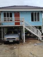 บ้านขนาด 4*6 เมตร ระเบียง 2*3 เมตร