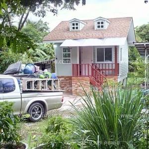 บ้านขนาด 4*6 เมตร ระเบียง 1*2.5 เมตร ราคา 350,000 บาท 1ห้องนอน 1ห้องน้ำ 1ห้องนั่งเล่น