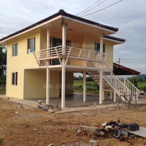 บ้าน2ชั้น ขนาด6*8.2เมตร ราคา 620,000บาท