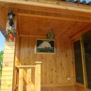 บ้านน๊อคดาวน์ บ้านโมบาย : บ้านไม้สน สินค้าแนะนำ 3*5.5