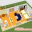 บ้านแฝดชั้นล่างขนาด 11*6 เมตร ระเบียง 2*4 เมตร ชั้นบนขนาด 3*4 เมตร ระเบียง 2*3 เมตร thumbnail 64