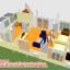 บ้านแฝดชั้นล่างขนาด 11*6 เมตร ระเบียง 2*4 เมตร ชั้นบนขนาด 3*4 เมตร ระเบียง 2*3 เมตร thumbnail 65